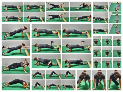 plank-variations